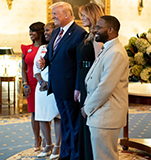 family_of_jesse_melton_with_trump_family